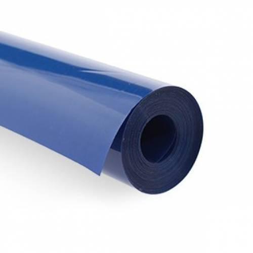 Синяя непрозрачная пленка