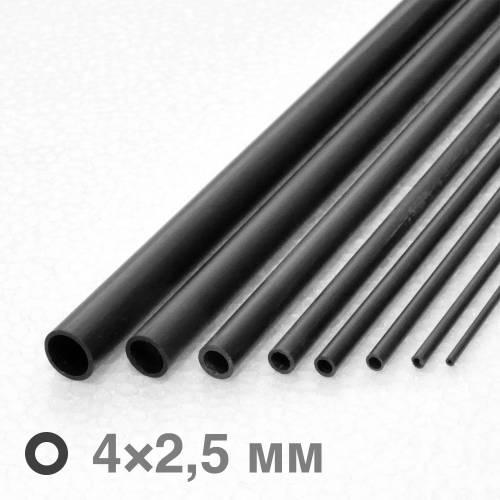 Трубка карбонова ∅4×∅2,5×1000 мм