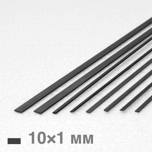 Рейка карбоновая 10×1×1000 мм